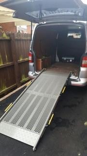 Loading Ramps Total Van Solutions Northern Ireland