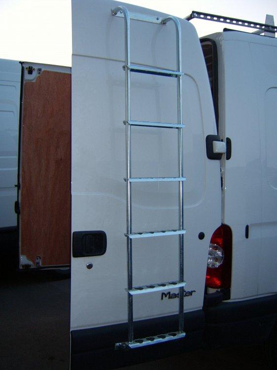 Door Ladders Total Van Solutions Northern Ireland