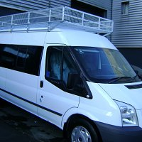 Ford Transit Luggage Rack