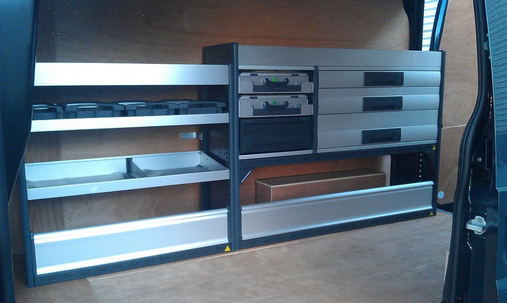 Bott Metal Racking Total Van Solutions Northern Ireland