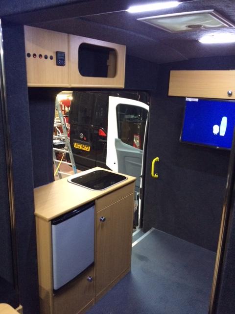 Mercedes Sprinter Work Vans >> Mobile Office Vans - Total Van Solutions Northern Ireland