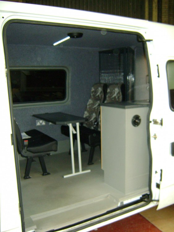 Mobile Office Vans Total Van Solutions Northern Ireland