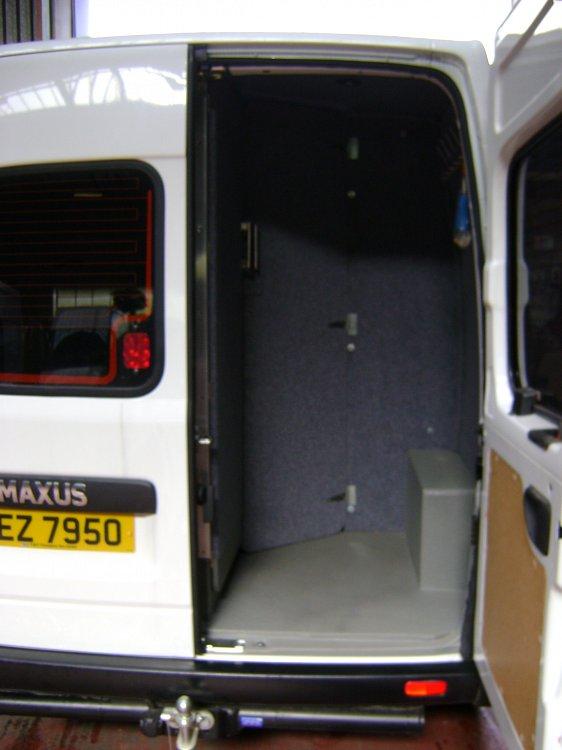 Mobile Office Vans Total Van Solutions Northern Ireland