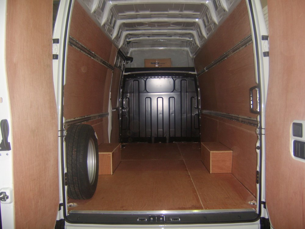 Load Securing Total Van Solutions Northern Ireland