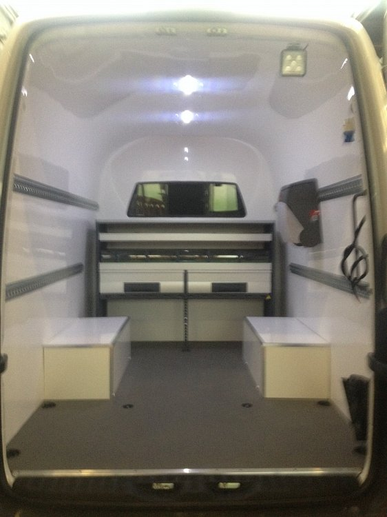 Mercedes Sprinter Office Workshop Conversion