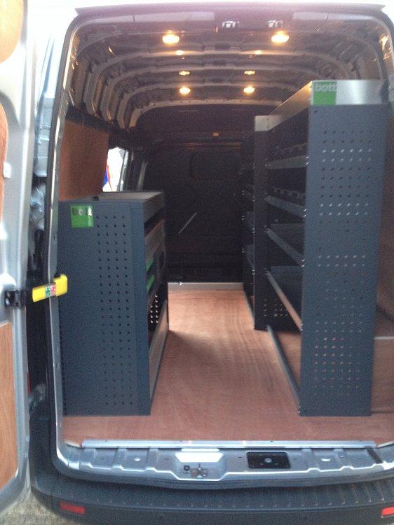 Bott Metal Racking Total Van Solutions Northern Ireland